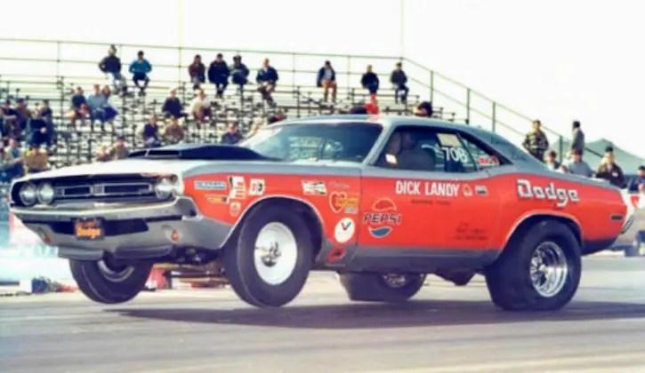 pro stock 1971 dodge challenger dandy dick landy