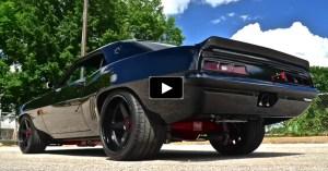 chevy camaro custom muscle car