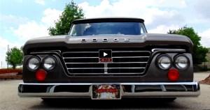 1965 dodge d100 sweptiline custom truck