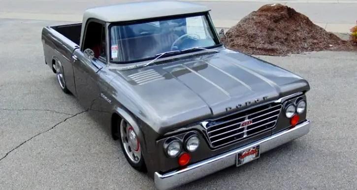 1965 dodge d100 sweptline custom truck