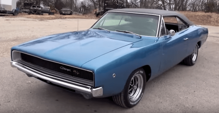 Blue Dodge Charger >> STUNNING 1968 DODGE CHARGER R/T IN B5 BLUE | HOT CARS