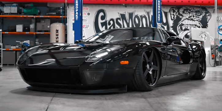custom built ford gt gas monkey garage