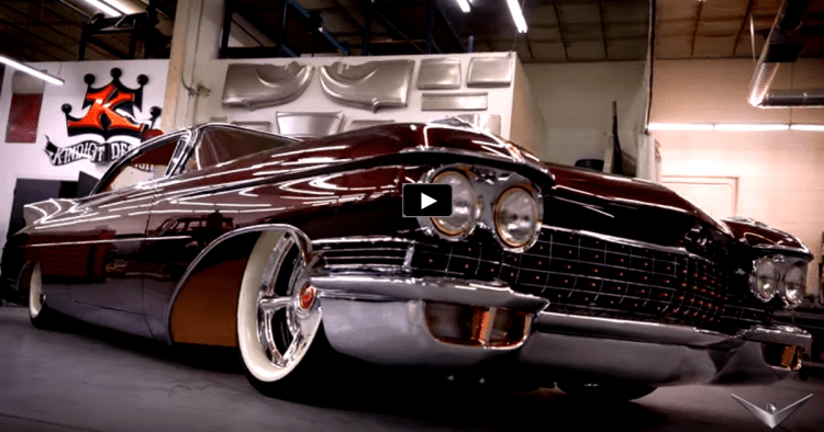 "CHOP TOP 1960 CADILLAC CUSTOM ""COPPER CADDY"" 