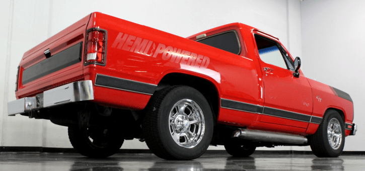 modified 1984 dodge ram hemi