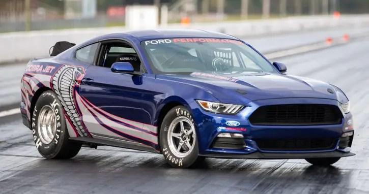 2016 cobra jet mustang factory race car