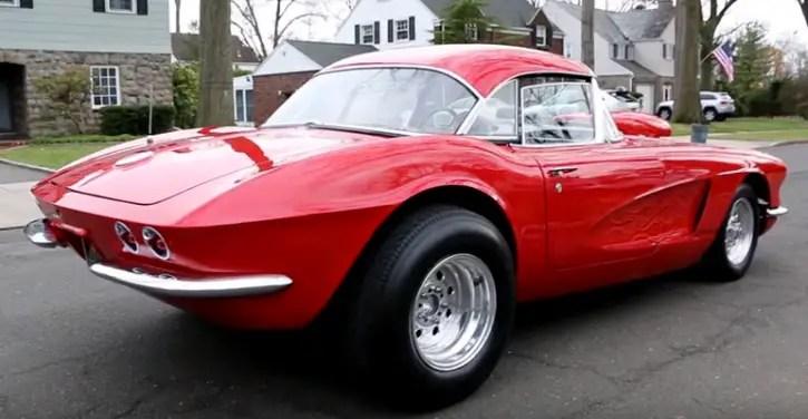 red 1962 chevrolet corvette custom