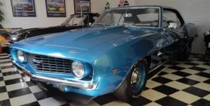 1969 chevrolet camaro copo restoration