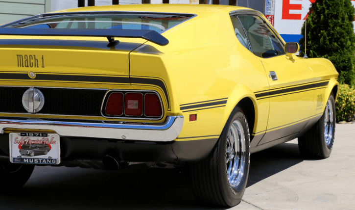 numbers matching 1971 mustang mach 1 429 cobra jet