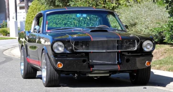 unique 1965 mustang fastback street machine