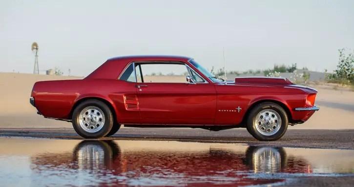 custom built 1967 ford mustang