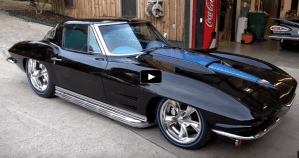 1963 split window corvette sema 2016 build