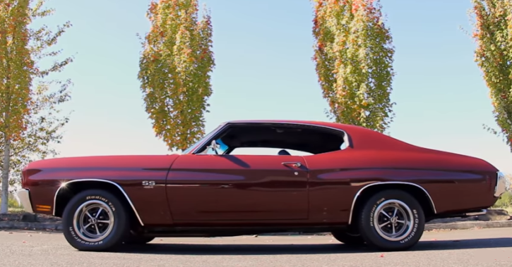 1970 chevrolet chevelle ls6 454
