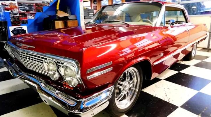 1963 chevy impala street rod