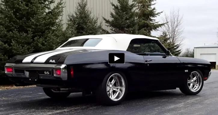 custom built 1970 chevy chevelle convertible