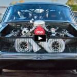 twin turbo helleanor mustang drag racing