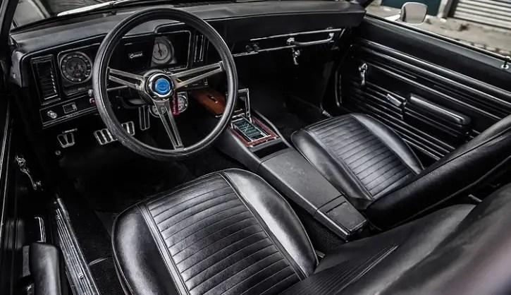 restored 1969 chevy camaro super sport 396