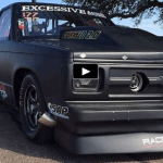 twin turbo chevy truck cornfed 2.0 drag racing