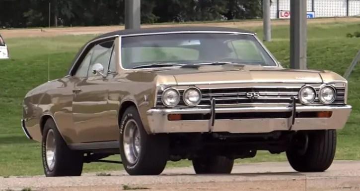 granada gold 1967 chevy chevelle 454 5-speed
