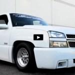 white 2005 chevrolet silverado ss truck