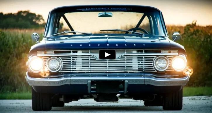 twin turbo 1961 chevy impala restomod