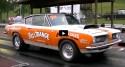 super stock plymouth barracuda drag racing