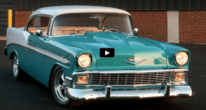 1956 chevy bel air 350 custom
