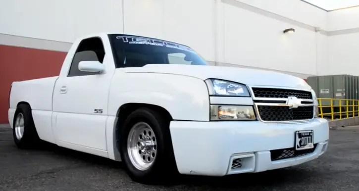 nitrous 2005 chevy silverado ss custom truck