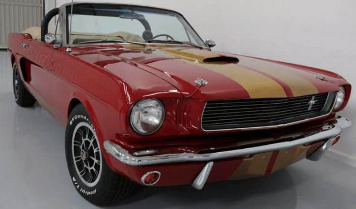 candy apple red 1966 mustang shelby gt350 convertible
