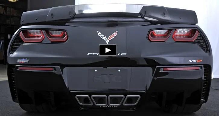 first 2017 yenko corvette on the dyno