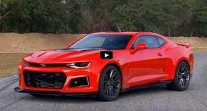 supercharged 2017 camaro zl1 track test