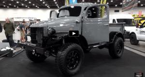 1941 dodge power wagon detroit autorama 2017