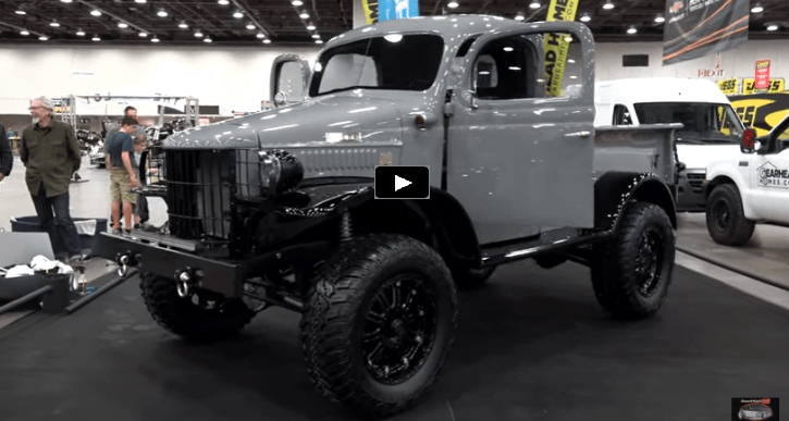 1941 dodge power wagon detroit autorama 2017