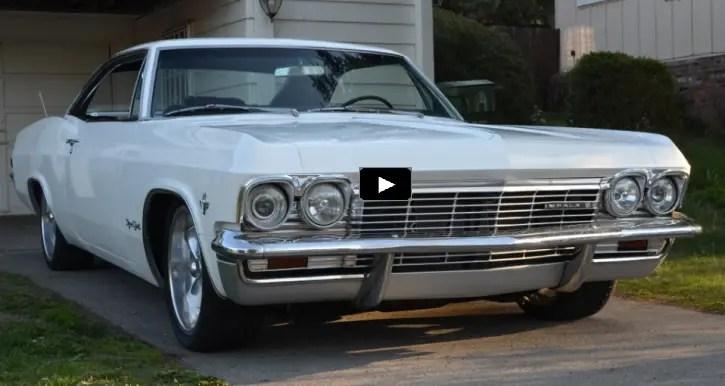 built 1965 chevrolet impala ss