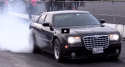 9-second nitrous chrysler 300c drag racing