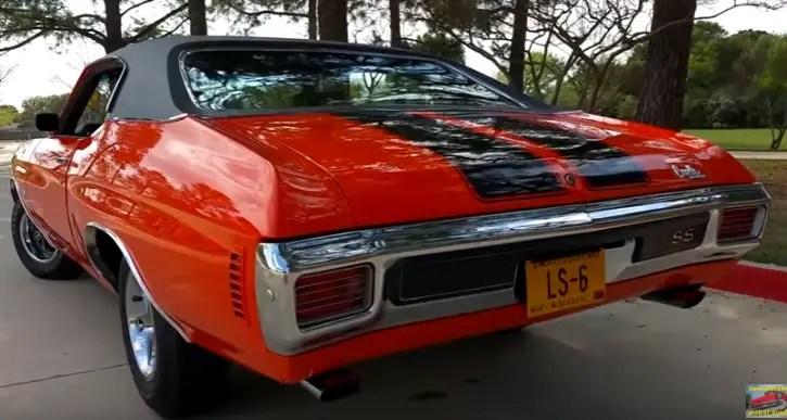 original 1970 chevy chevelle ss 454