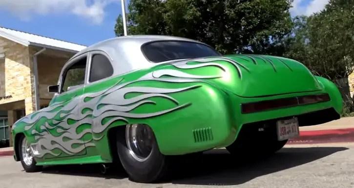 custom 1950 chevy coupe