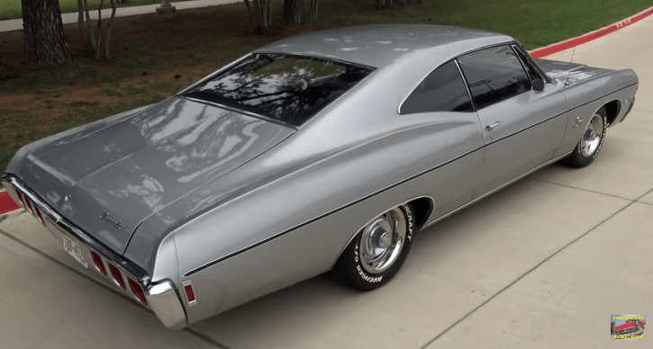original 1968 impala numbers matching 327 motor