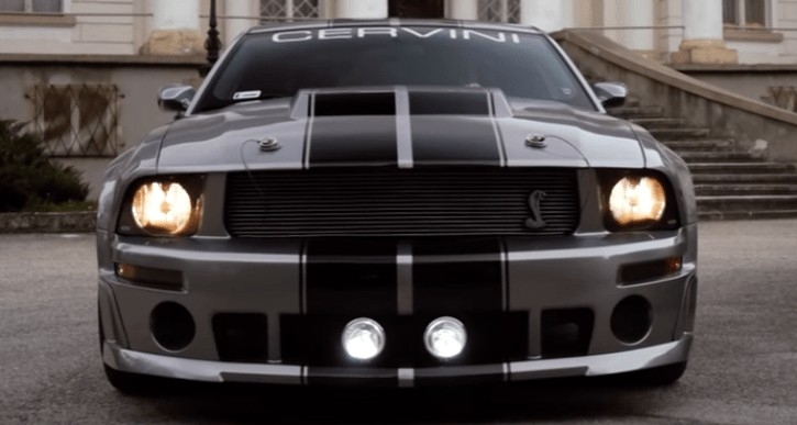 2007 ford mustang gt500 cervini video