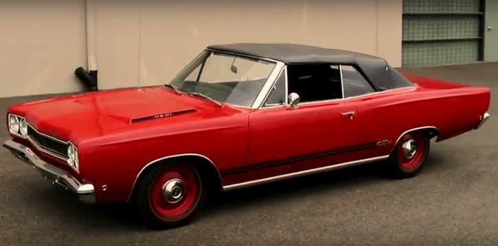 rare 1968 plymouth gtx convertible