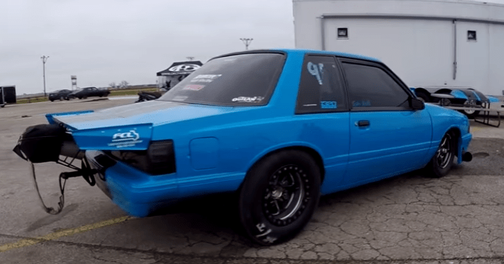 1500hp turbocharged fox body mustang bounty hunters