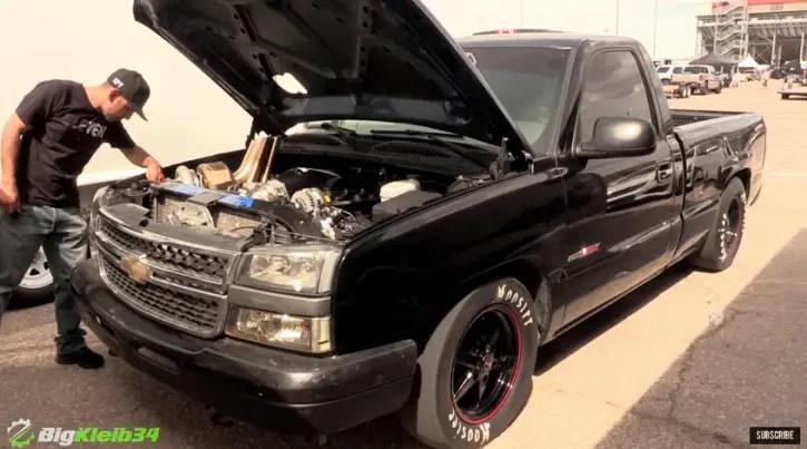 turbo chevy silverado truck ls fest