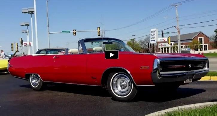 restored convertible 1970 chrysler 300