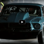 wheelstanding 1967 ford mustang drag racing