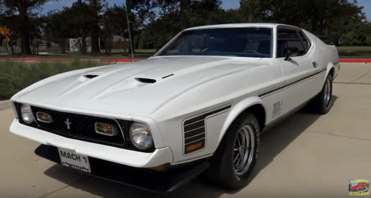 supercharged 1971 mustang mach 1 build