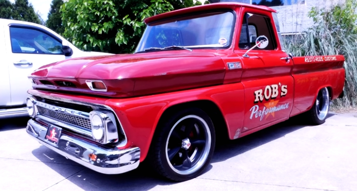 supercharged 1965 chevrolet c10 truck