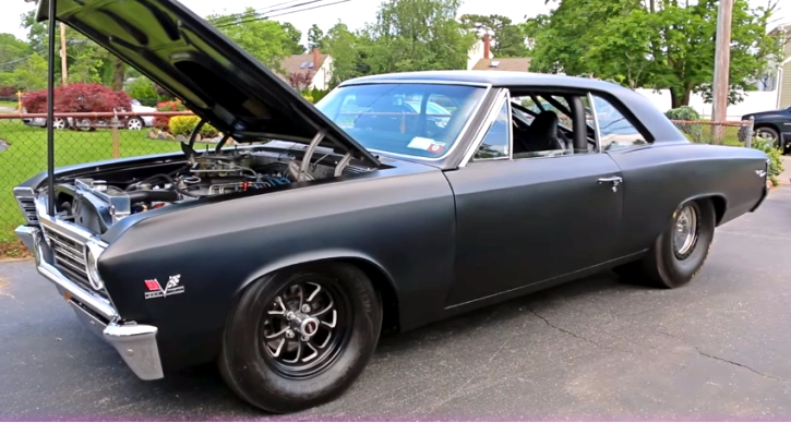 murdered out 1967 chevy chevelle ss