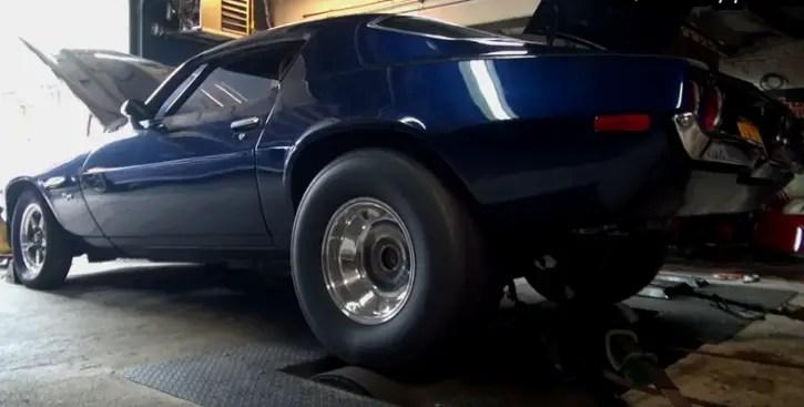 split bumper chevy camaro z28 dyno