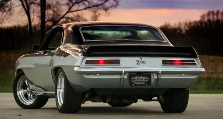 1969 chevy camaro z28 pro touring