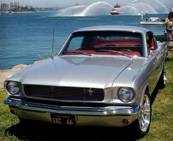 custom 1966 ford mustang