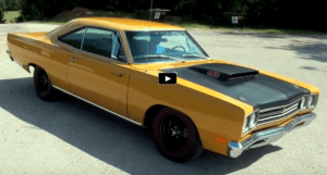 1969 plyouth road runner collector car